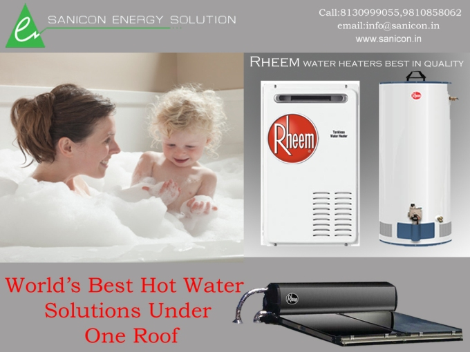 World's Best Hot Water Solutions Under One Roof-Sanicon Energy Solution